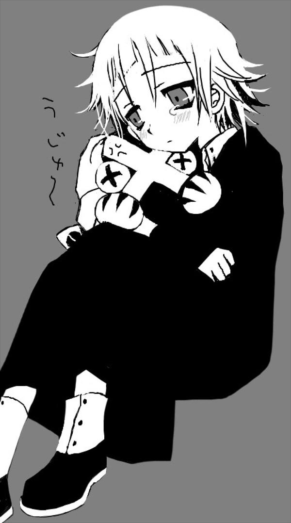 Tags: Anime, SOUL EATER, Crona, Ragnarok (SOUL EATER)