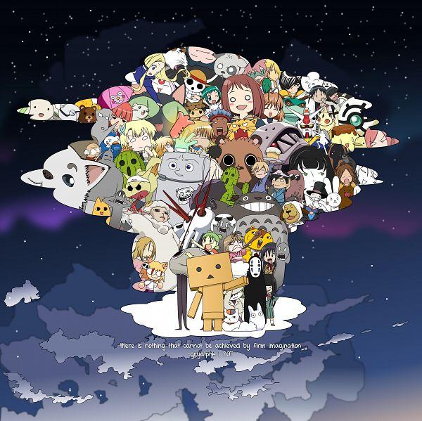 Tags: Anime, Gryalphk, Yotsuba&!, Midori no Hibi, Katekyo Hitman REBORN!, Black Cat (Series), B Gata H Kei