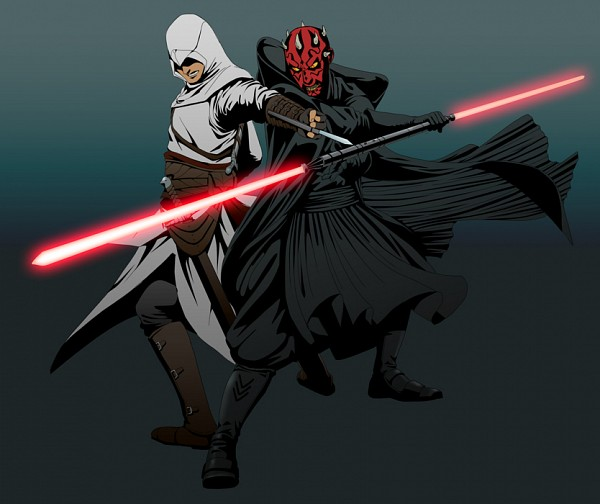 Tags: Anime, Star Wars, Assassin's Creed, Altair Ibn La-Ahad, Doubleleaf