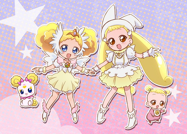 Tags: Anime, Ojamajo DoReMi, Makihatayama Hana, Voice Actor Connection, Feather Wings, Ine, Characteristic Connection