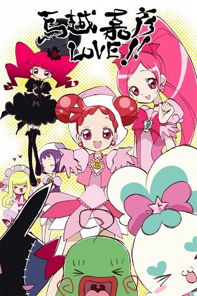 Tags: Anime, Pink Dress, Ojamajo DoReMi, Harukaze Doremi, Segawa Onpu, Pink Outfit, Hold Out Hand