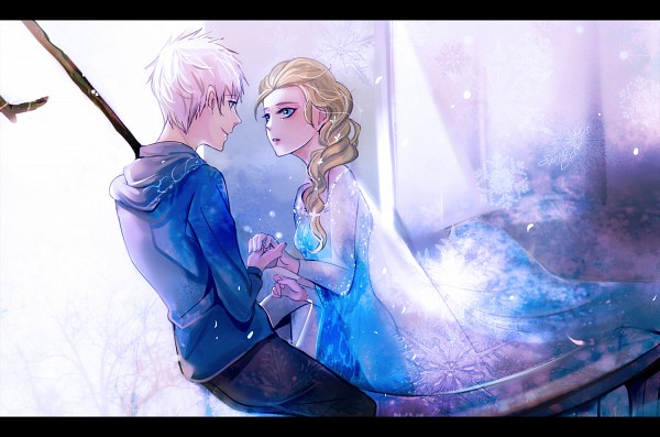 Tags: Anime, Branch, Blue Dress, Disney, Zao Chuan Ya, Blue Hoodie, Jack Frost