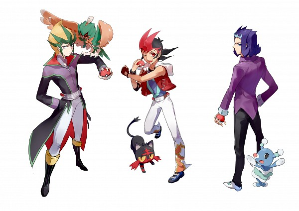 Tags: Anime, Pixiv Id 4690295, Yu-Gi-Oh! ZEXAL, Pokémon, Yu-Gi-Oh!, Tsukumo Yuma, Tenjou Kaito