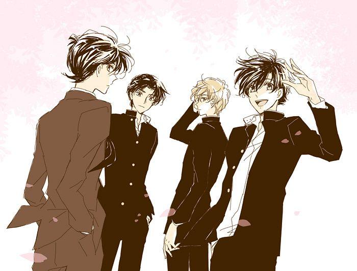 Tags: Anime, Sagari24, Meitantei Conan, Magic Kaito, Hakuba Saguru, Kudou Shinichi, Kuroba Kaito
