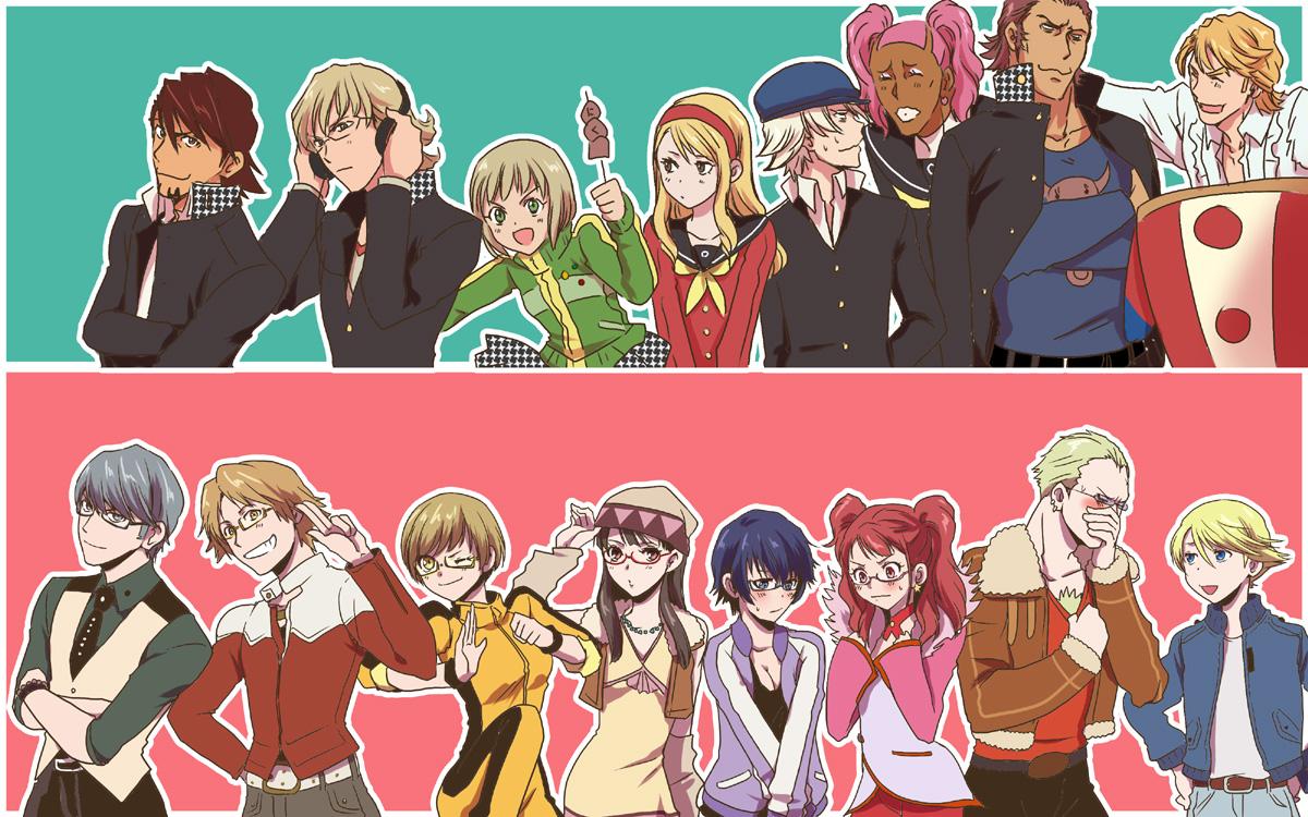Shin Megami Tensei Persona 4 Wallpaper Zerochan Anime