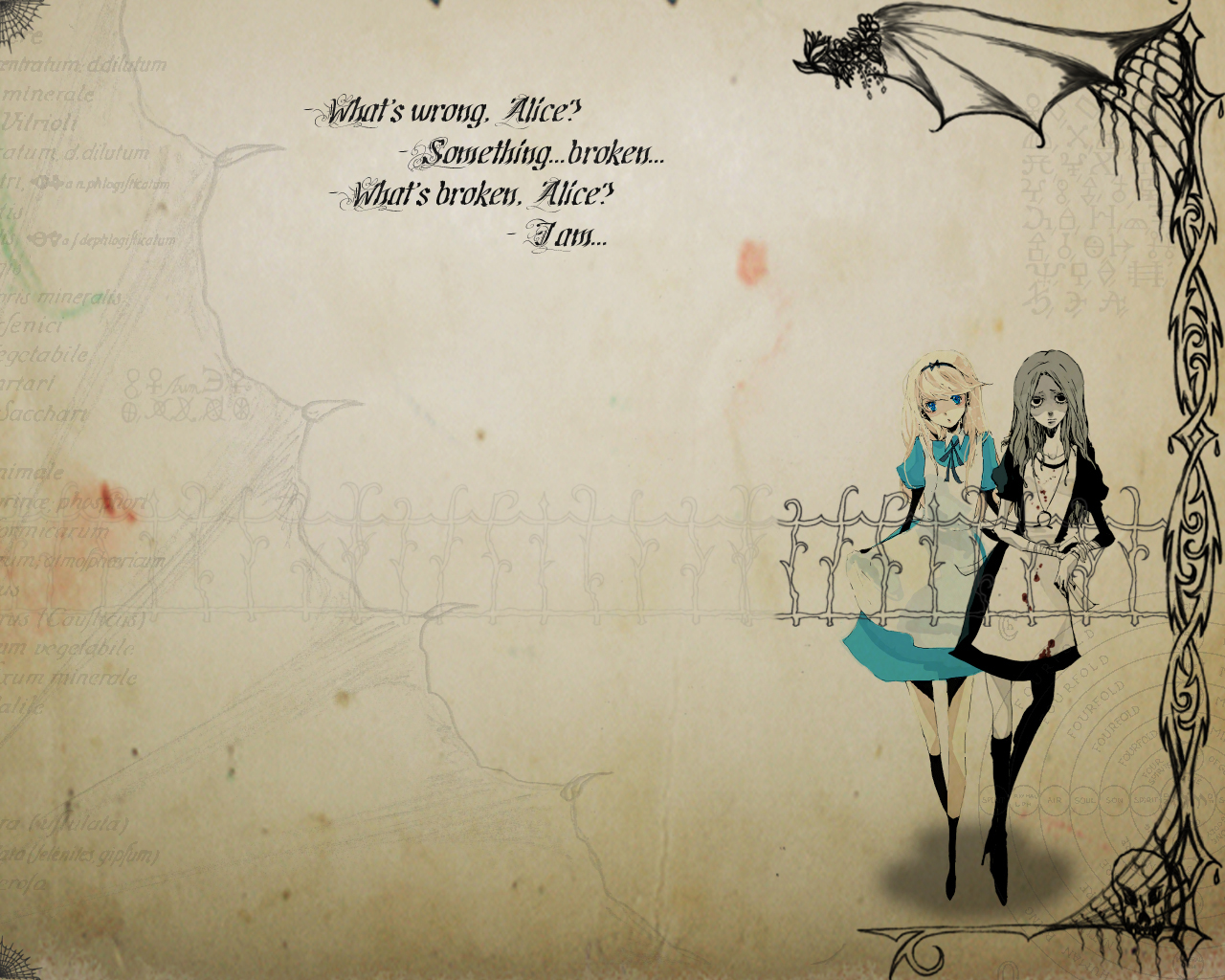 alice in wonderland, wallpaper - zerochan anime image board