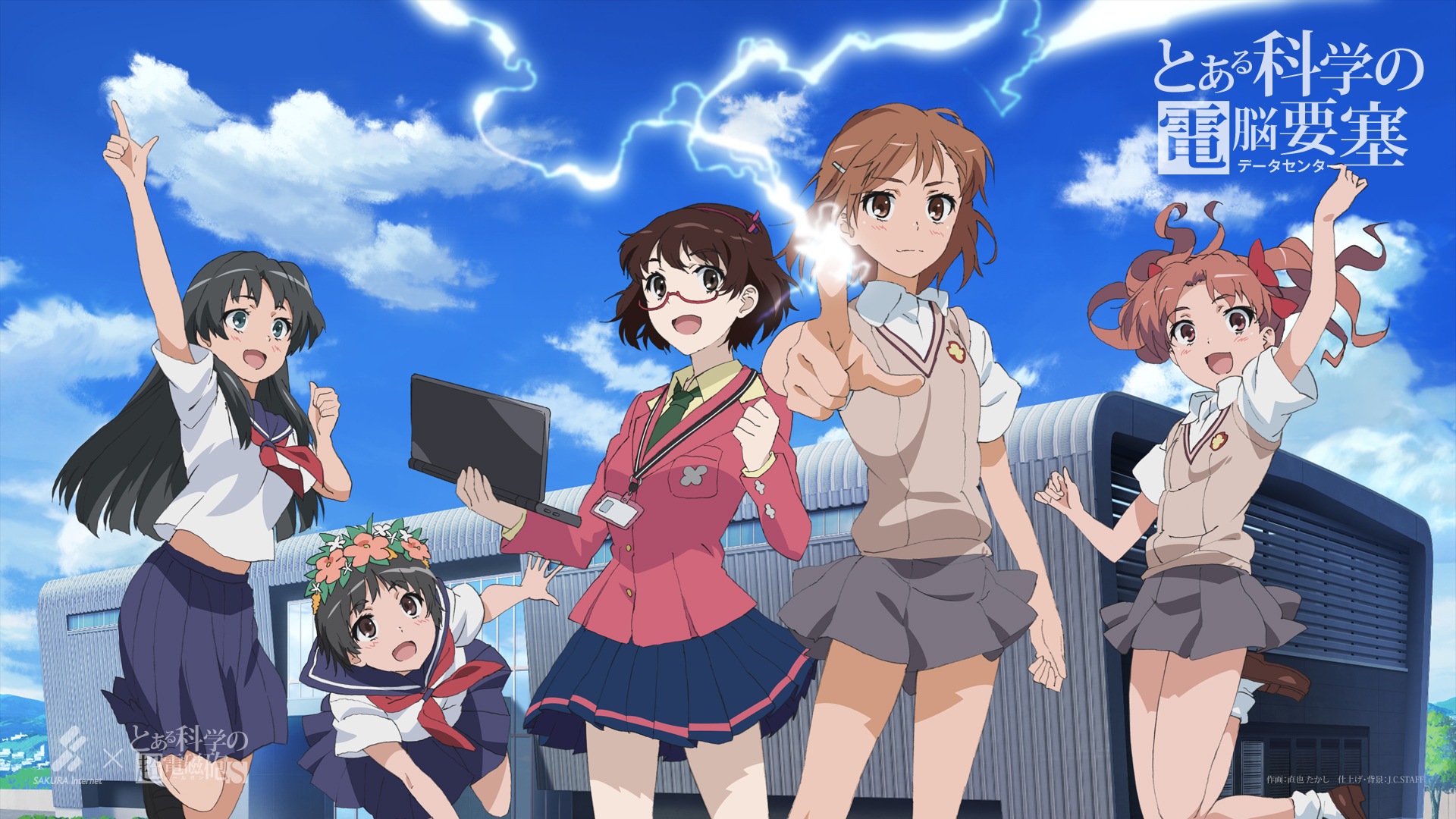 To Aru Kagaku No Railgun A Certain Scientific Railgun Hd