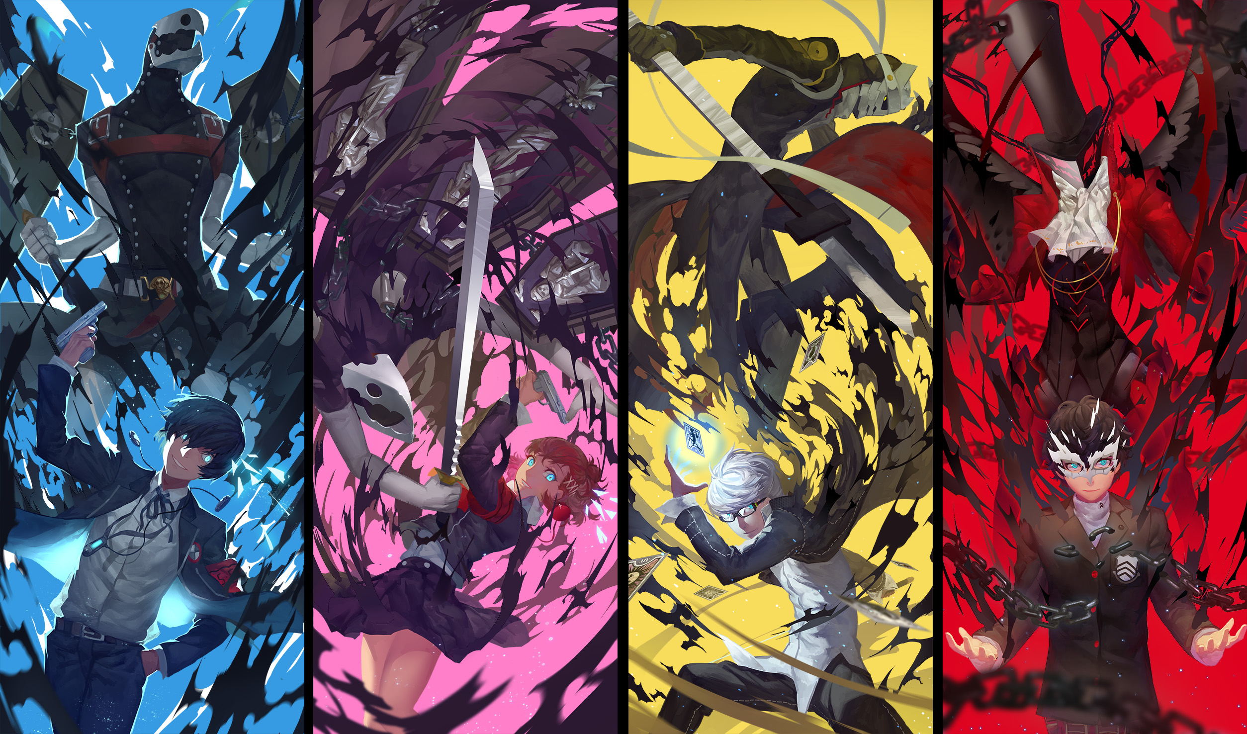 Persona 3 iphone 5 wallpaper - Filter Shin Megami Tensei Persona 3 Wallpaper
