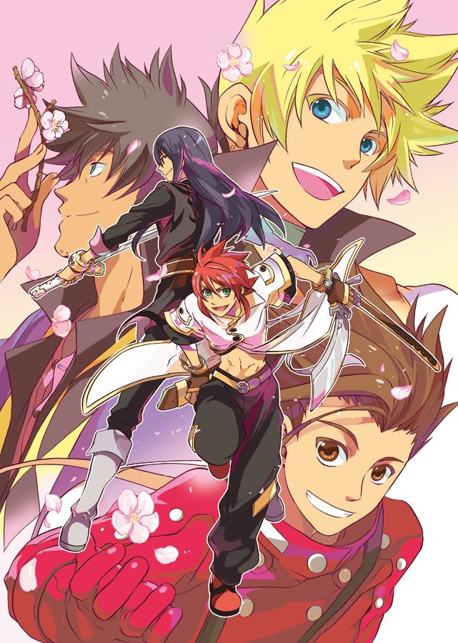 Tags: Anime, Fujimura Ayumi, FIVE, Tales of Vesperia, Tales of Symphonia, Tales of the Abyss, Lloyd Irving, Raven (Tales of Vesperia), Yuri Lowell, Luke fon Fabre, Guy Cecil