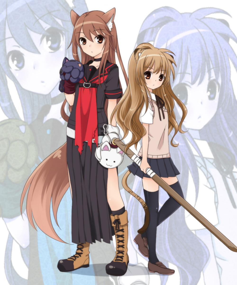 Cross-Over/#244824 - ZerochanOokami San To Shichinin No Nakama Tachi Characters