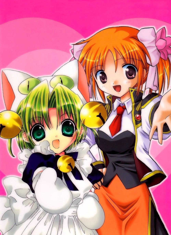 di gi charat green hair page 10 zerochan anime image board mobile