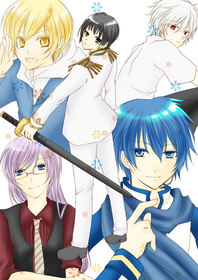 Tags: Anime, Axis Powers: Hetalia, DURARARA!!, Neon Genesis Evangelion, VOCALOID, Japan, KAITO, Kida Masaomi, Nagisa Kaworu, Artist Request