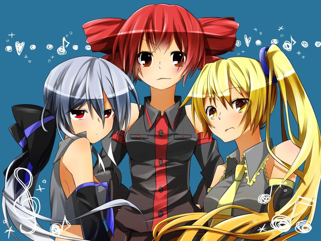 Vocaloid Neru And Haku Cross-Over/#290276 - Z...