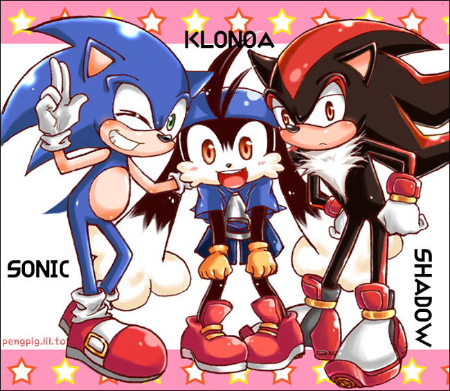 Tags: Anime, Klonoa, Sonic the Hedgehog, Shadow the Hedgehog, Sonic the Hedgehog (Character), Klonoa (Character), Artist Request