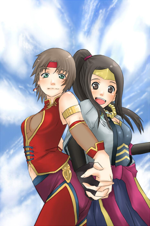 Tags: Anime, Buta774, Dynasty Warriors, Sengoku Musou, Inahime, Sun Shang Xiang