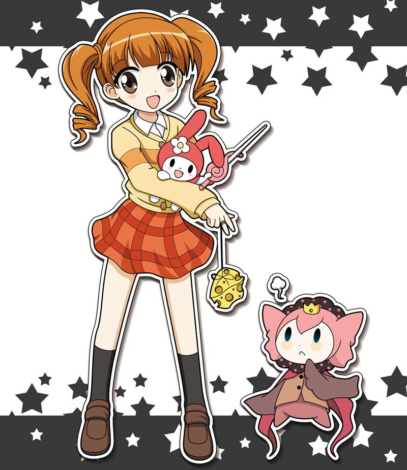 Cross-Over/#817066 - ZerochanOnegai My Melody Uta And Kakeru