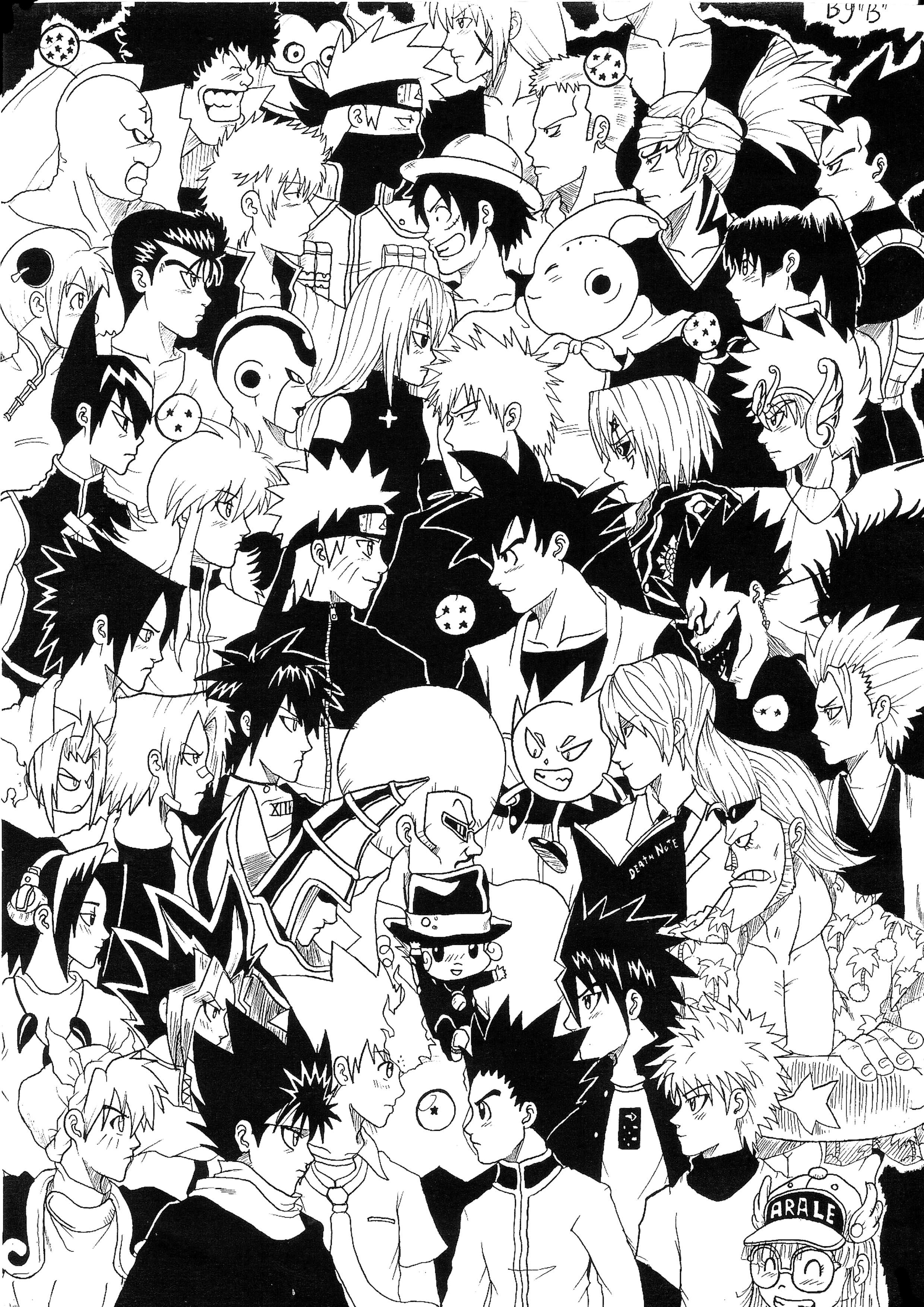 Yu Yu Hakusho Mobile Wallpaper Zerochan Anime Image Board