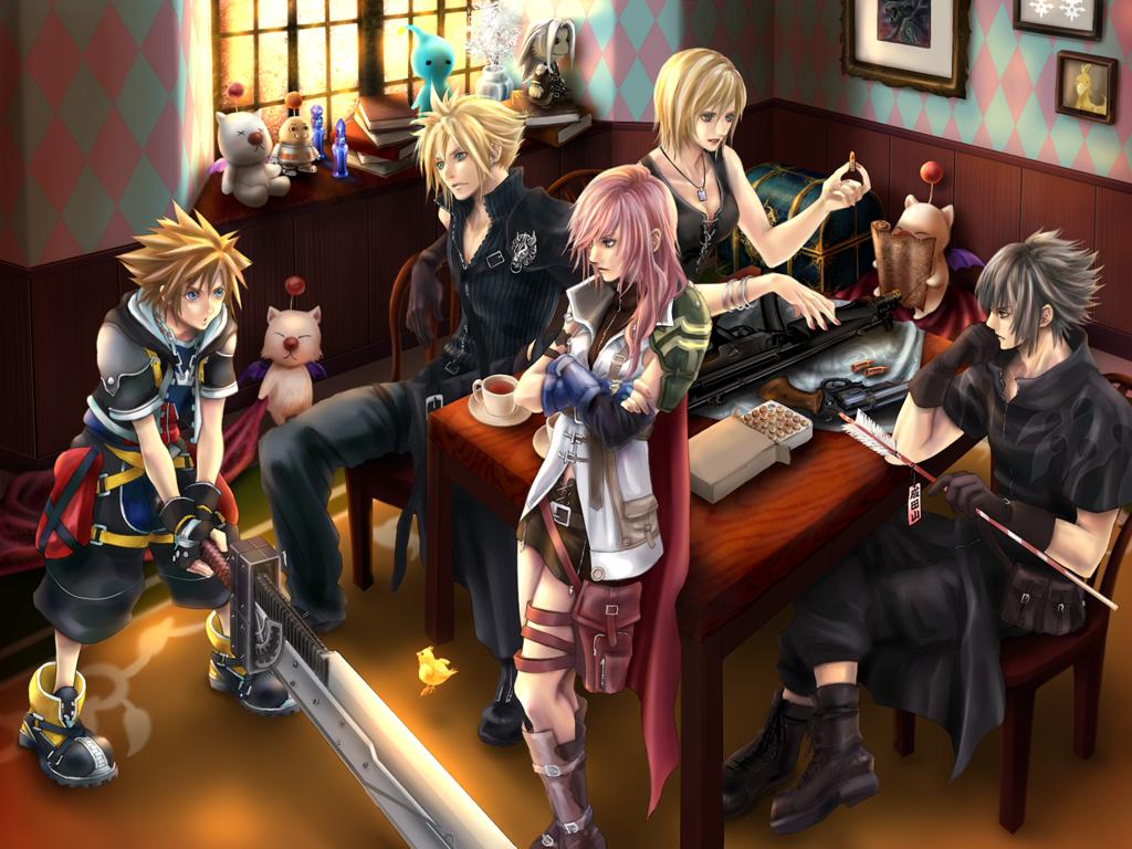 Final Fantasy Vii Wallpaper Zerochan Anime Image Board