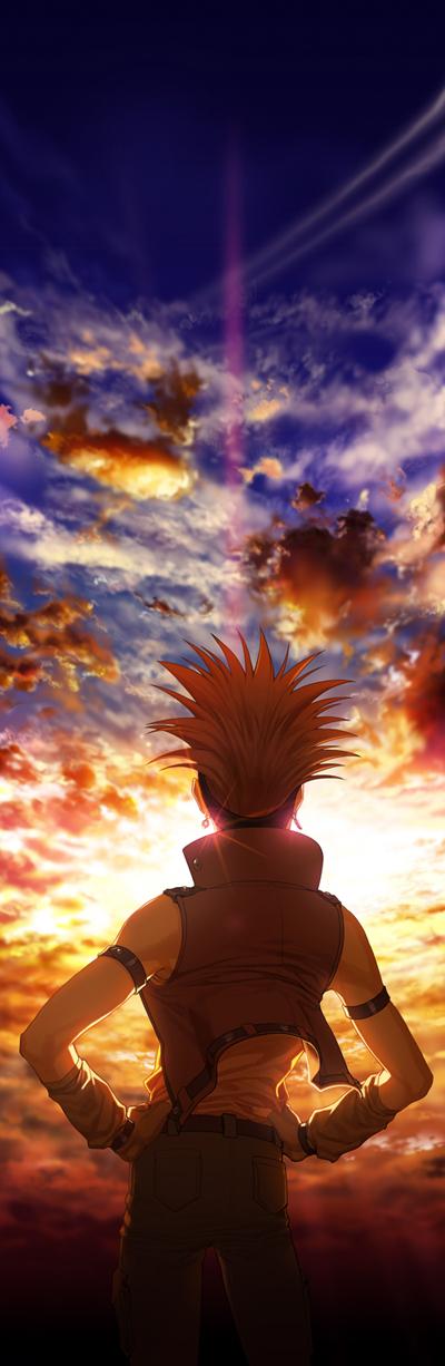 Tags: Anime, YNA, Yu-Gi-Oh!, Yu-Gi-Oh! 5D's, Crow Hogan, Fanart From Pixiv, Fanart, Pixiv