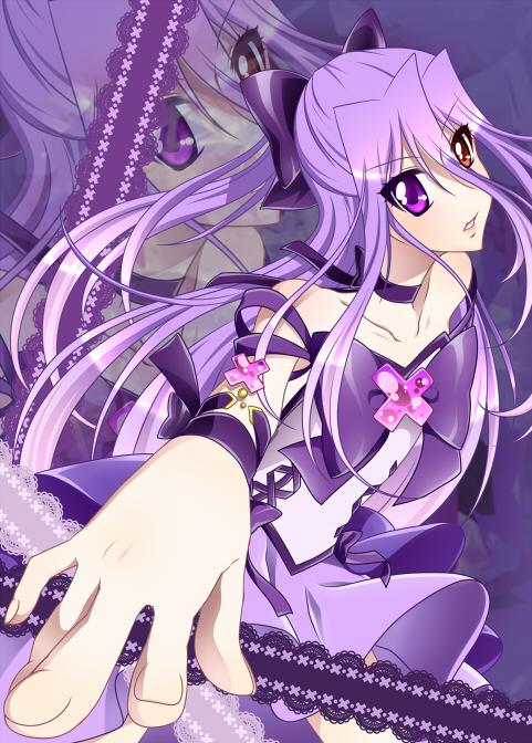 Tags: Anime, 0417nao, Shuffle! Precure, Pretty Cure Fan Series, Crown Joker, Nobara Rei, Fanart From Pixiv, Pixiv, Fanart