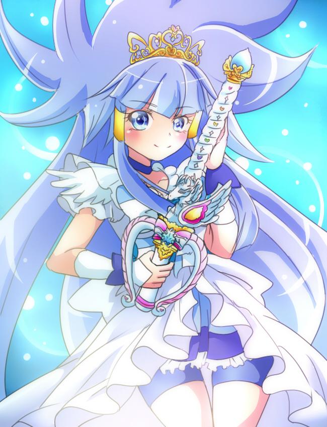 Tags: Anime, Pixiv Id 1706251, Smile Precure!, Cure Beauty, Aoki Reika, Fanart, Fanart From Pixiv, Pixiv