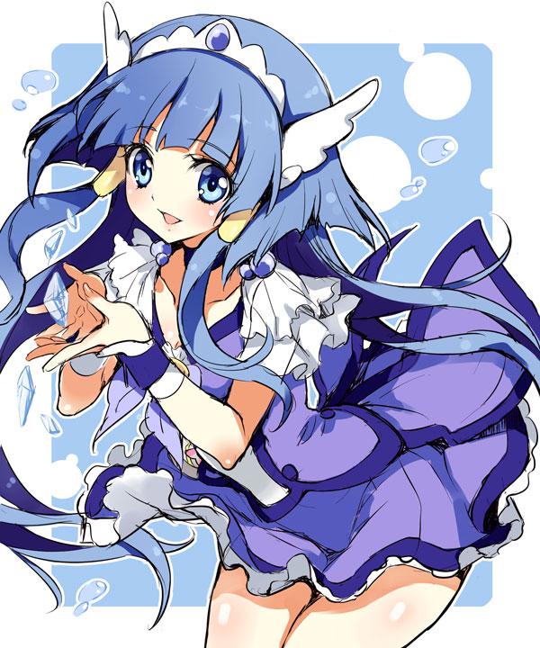 Tags: Anime, Yukiwo, Smile Precure!, Aoki Reika, Cure Beauty, Pixiv, Fanart