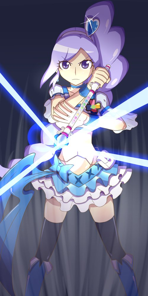 Tags: Anime, Pixiv Id 113445, Fresh Precure!, Cure Berry, Aono Miki, Fanart, Pixiv, Fanart From Pixiv