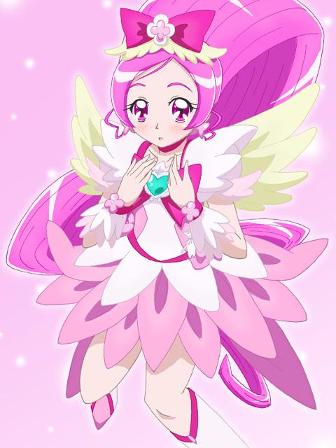 Tags: Anime, Kiyu, Heartcatch Precure!, Cure Blossom, Hanasaki Tsubomi, Fanart From Pixiv, Pixiv, Fanart