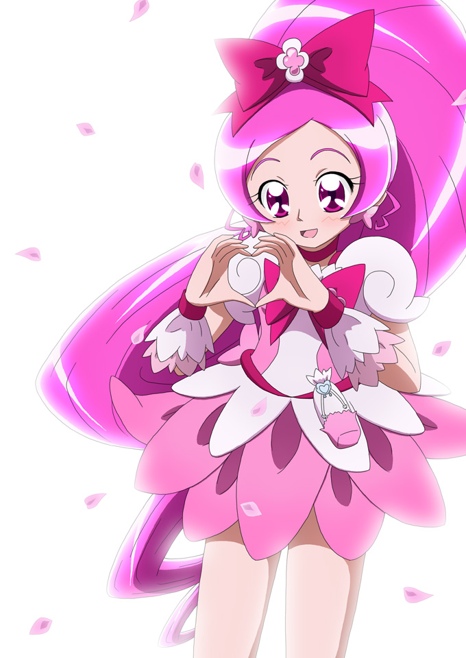 Tags: Anime, Kiyu, Heartcatch Precure!, Hanasaki Tsubomi, Cure Blossom, Fanart From Pixiv, Pixiv, Fanart