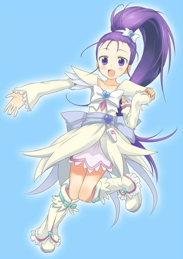 Tags: Anime, Pixiv Id 2418619, Futari wa Precure Splash Star, Mishou Mai, Cure Egret, Pixiv, Fanart From Pixiv, Fanart