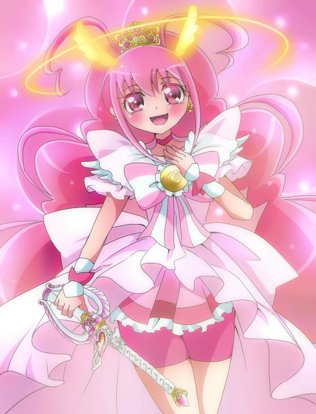 Tags: Anime, Pixiv Id 1706251, Smile Precure!, Hoshizora Miyuki, Cure Happy, Fanart, Fanart From Pixiv, Pixiv