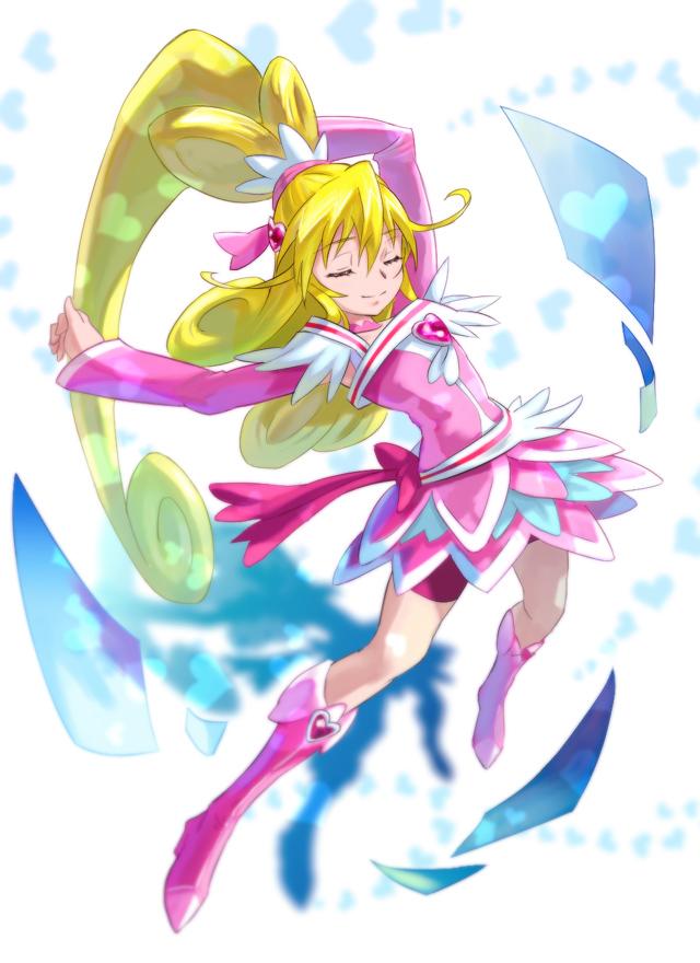 Tags: Anime, Pixiv Id 6107, Dokidoki! Precure, Aida Mana, Cure Heart, Pixiv, Fanart, Fanart From Pixiv