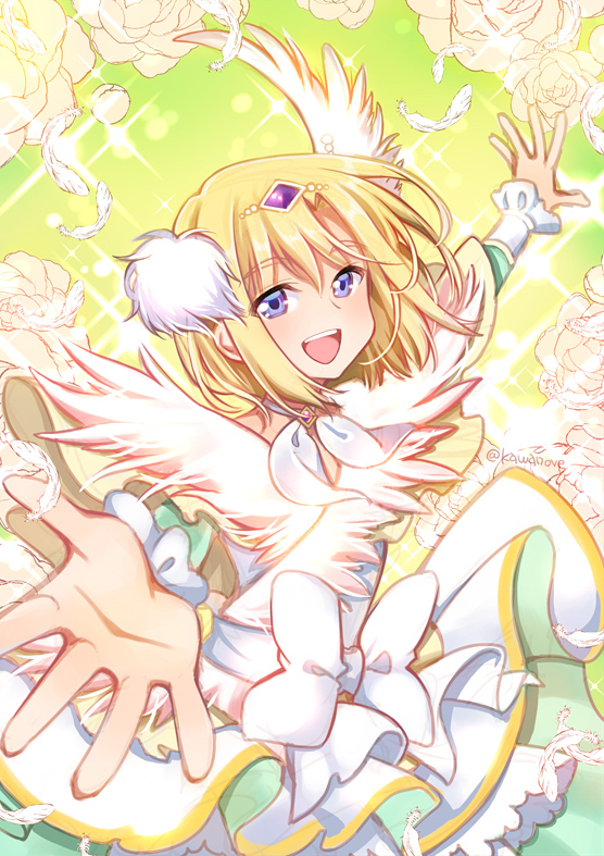 Tags: Anime, Pixiv Id 21552446, HUGtto! Precure, Cure Infini, Wakamiya Henri, Magical Boy, Fanart, Twitter, Fanart From Pixiv, Pixiv