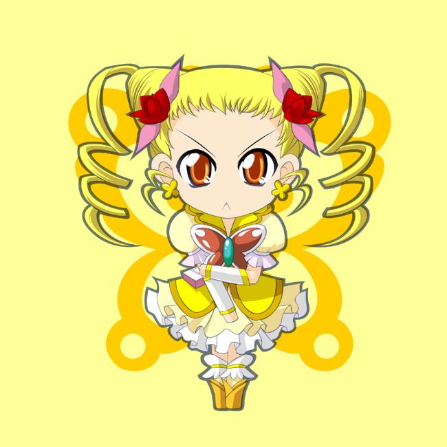 Tags: Anime, Kaganoai, Yes! Precure 5, Cure Lemonade, Kasugano Urara, Pixiv, Fanart From Pixiv, Fanart