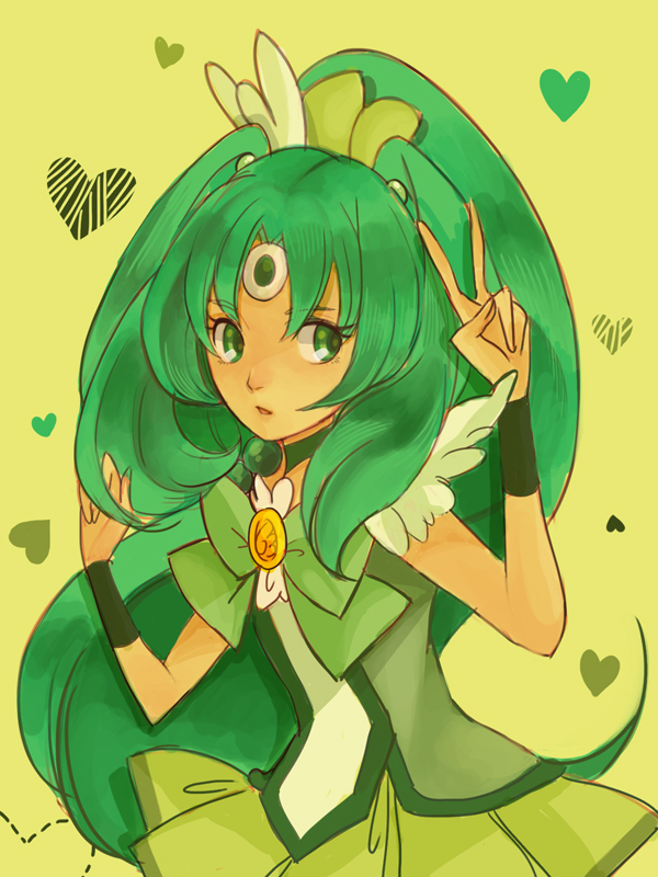 Tags: Anime, cnove, Smile Precure!, Midorikawa Nao, Cure March, Fanart