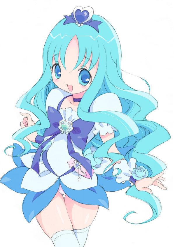Tags: Anime, Pixiv Id 10558, Heartcatch Precure!, Kurumi Erika, Cure Marine, Pixiv, Fanart