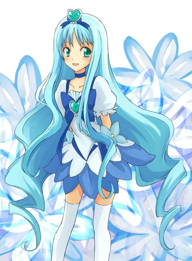 Tags: Anime, Touyama (Terada), Heartcatch Precure!, Kurumi Erika, Cure Marine, Fanart From Pixiv, Pixiv, Fanart