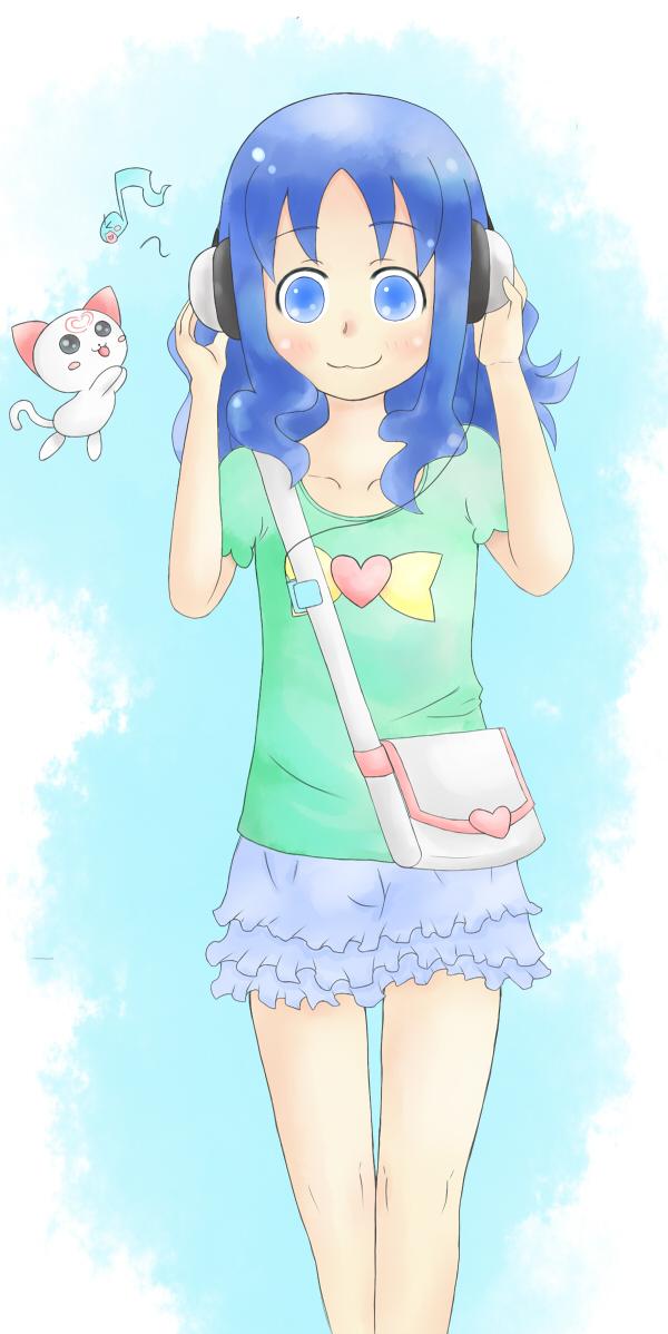 Tags: Anime, Pixiv Id 1553204, Suite Precure♪, Heartcatch Precure!, Precure All Stars, Cure Marine, Hummy, Kurumi Erika, Pixiv, Fanart, Fanart From Pixiv