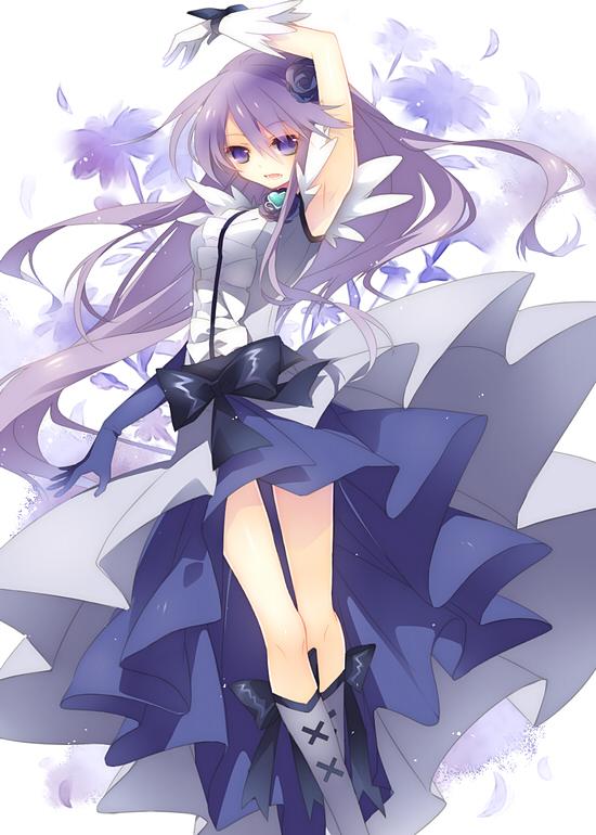 Tags: Anime, Yamiko, Heartcatch Precure!, Tsukikage Yuri, Cure Moonlight, Mobile Wallpaper, Pixiv, Fanart