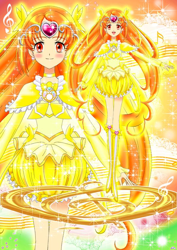 Tags: Anime, Luna Rune, Suite Precure♪, Cure Muse, Shirabe Ako