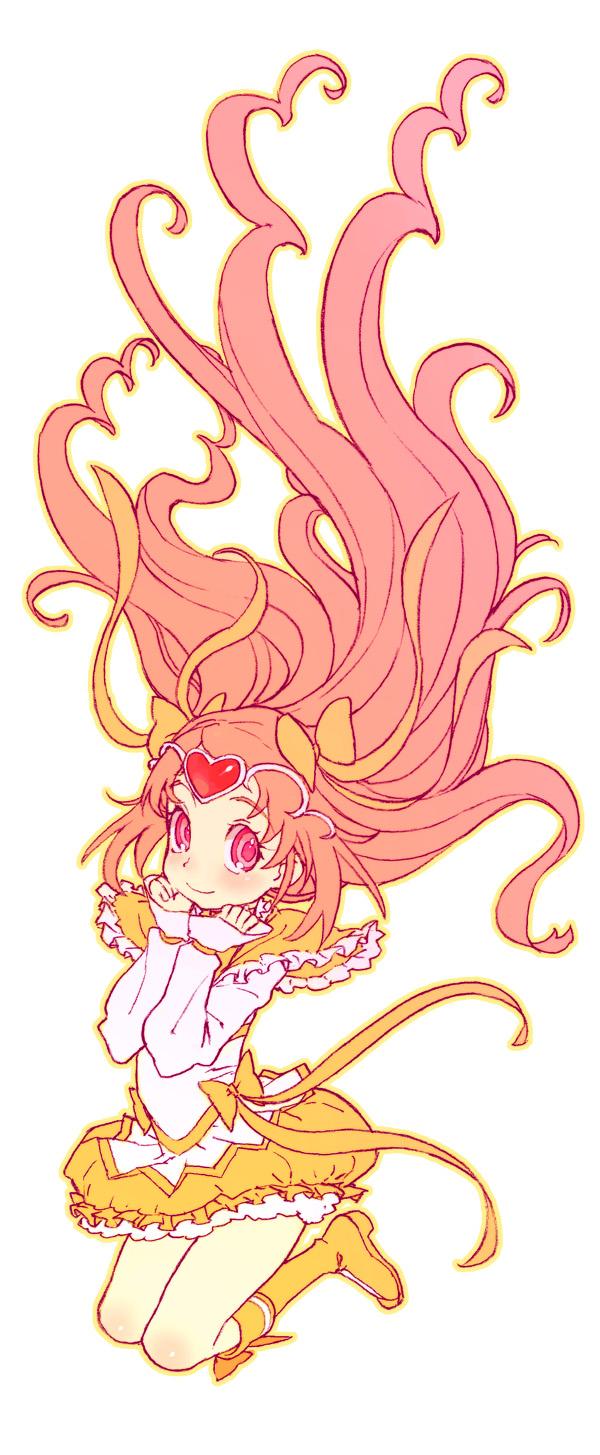 Tags: Anime, Hijiri Rei, Suite Precure♪, Cure Muse, Shirabe Ako, Pixiv, Fanart