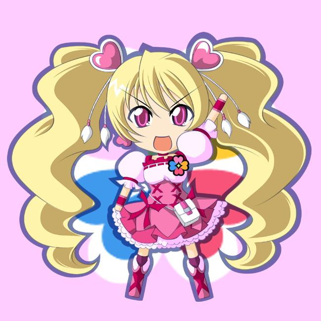 Tags: Anime, Kaganoai, Fresh Precure!, Cure Peach, Momozono Love, Fanart From Pixiv, Fanart, Pixiv