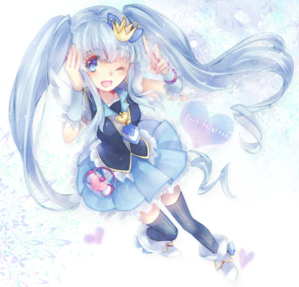 Cure princess happinesscharge precure zerochan anime - Images princesse ...