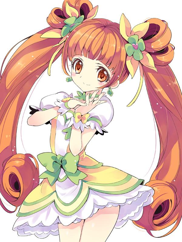 Tags: Anime, Yukiwo, Dokidoki! Precure, Yotsuba Alice, Cure Rosetta, Pixiv, Fanart, Fanart From Pixiv