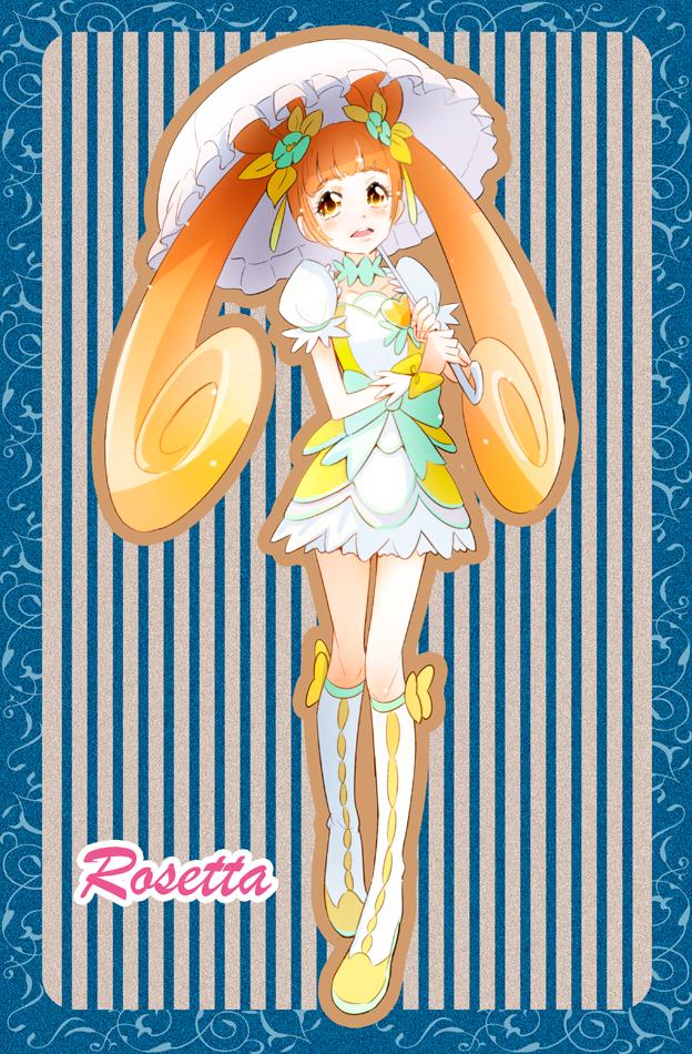 Tags: Anime, Pixiv Id 5084699, Dokidoki! Precure, Yotsuba Alice, Cure Rosetta, Pixiv, Fanart, Fanart From Pixiv