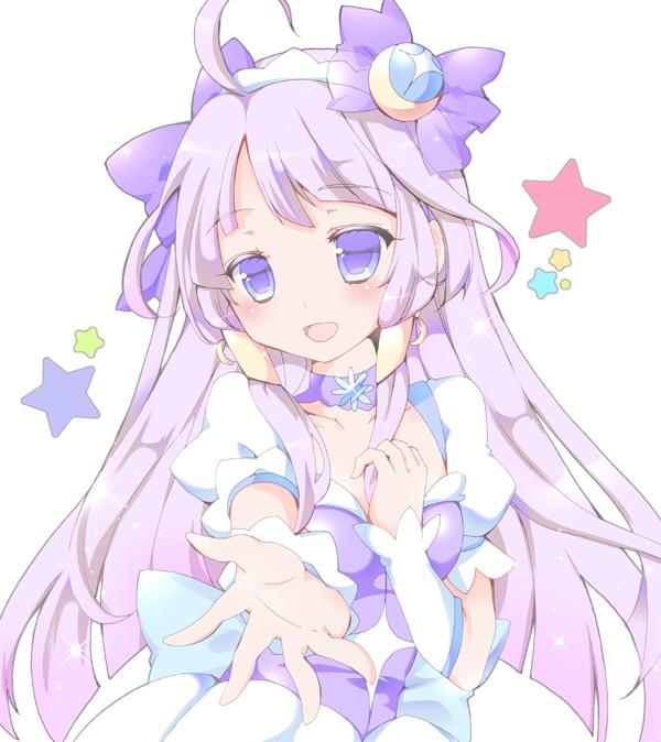 Tags: Anime, Pixiv Id 1042153, Star☆Twinkle Precure, Kaguya Madoka, Cure Selene, Fanart From Pixiv, Pixiv, Fanart