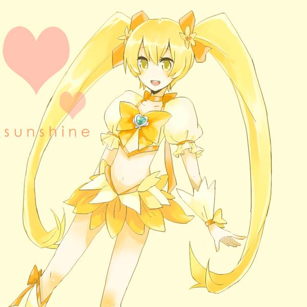 Tags: Anime, Pixiv Id 138877, Heartcatch Precure!, Myoudouin Itsuki, Cure Sunshine, Fanart, Pixiv
