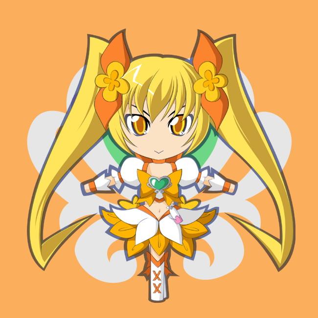 Tags: Anime, Kaganoai, Heartcatch Precure!, Cure Sunshine, Myoudouin Itsuki, Pixiv, Fanart