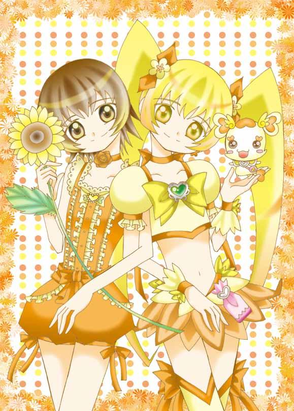 Tags: Anime, Yuua, Heartcatch Precure!, Myoudouin Itsuki, Cure Sunshine, Potpourri, Fanart, Pixiv