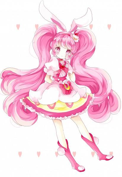 Tags: Anime, Tsukiyo, Kirakira☆Precure a la Mode, Usami Ichika, Cure Whip, Pink Footwear, Pink Bow